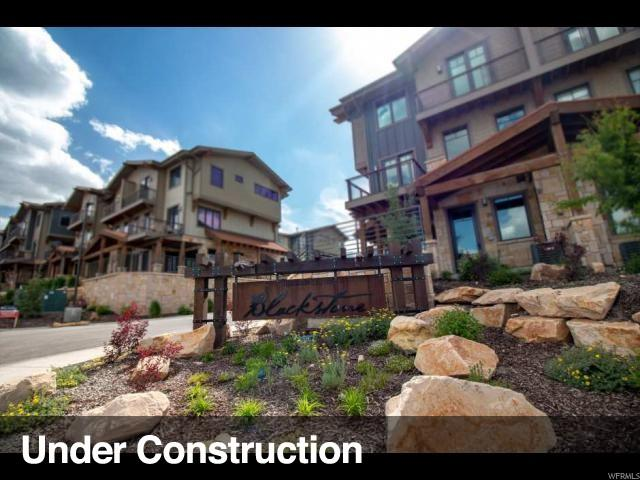 3793 Blackstone Dr 2H, Snyderville, UT 84098 (#1556683) :: The Fields Team