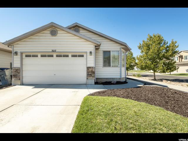 327 N Caleb Dr W, North Salt Lake, UT 84054 (#1556740) :: Colemere Realty Associates