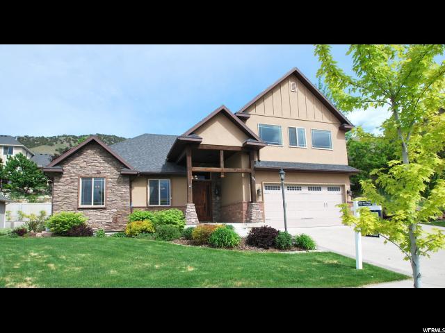 1244 E Hidden View Dr S, Providence, UT 84332 (#1557297) :: Big Key Real Estate