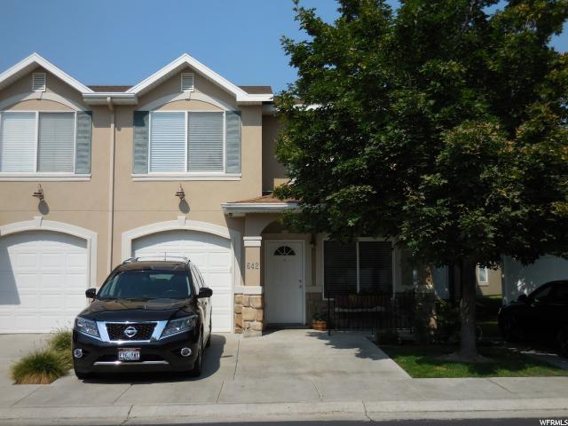 642 W Villa Bluff Dr, Sandy, UT 84070 (#1558178) :: Big Key Real Estate