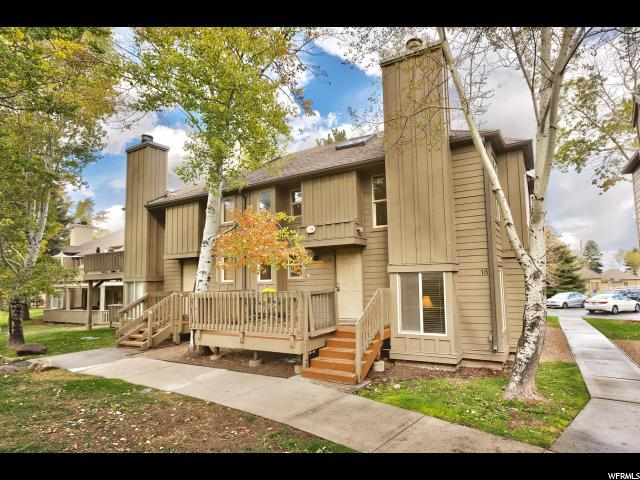 2100 W Canyons Resort Dr 18-B, Park City, UT 84098 (#1558554) :: Big Key Real Estate