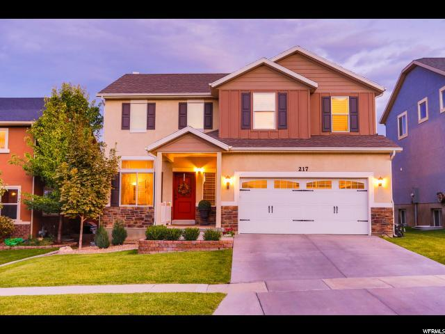 217 W Cedar Grove Ln, Saratoga Springs, UT 84045 (#1558586) :: Exit Realty Success