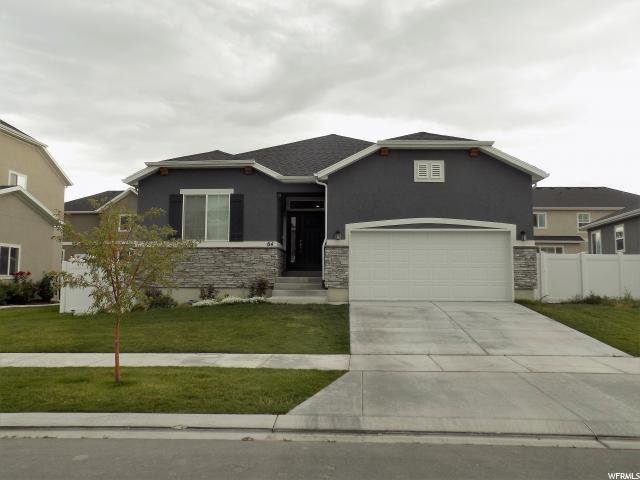 64 N Canyon Maple Rd, Vineyard, UT 84059 (#1559028) :: goBE Realty