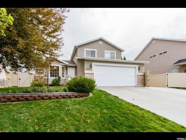 319 W Harvest Moon Dr, Saratoga Springs, UT 84045 (#1559175) :: Big Key Real Estate