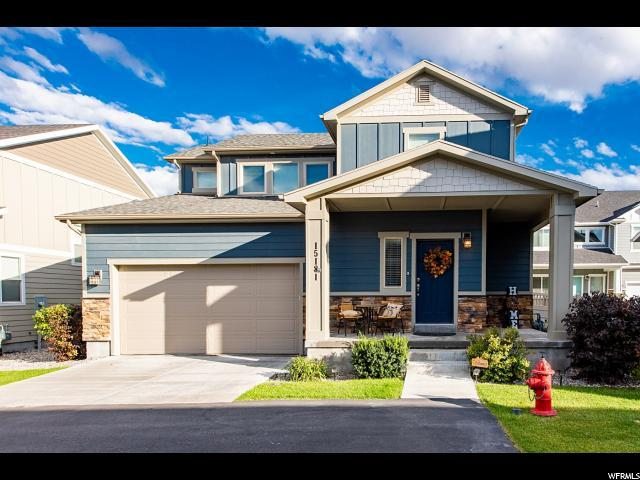 15181 S Amber Wave Dr W, Bluffdale, UT 84065 (#1559500) :: Exit Realty Success