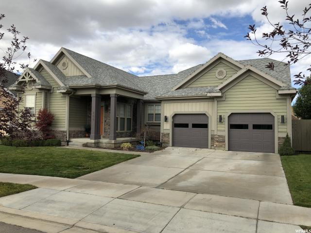 4839 N Shady Hollow Ln, Lehi, UT 84043 (#1559834) :: Big Key Real Estate
