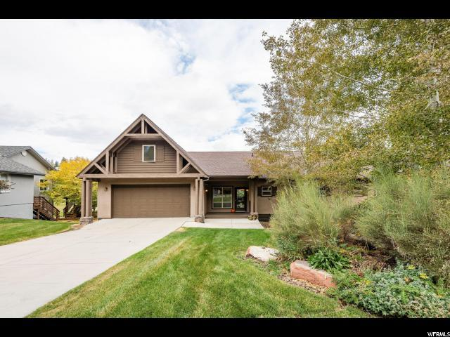 8760 N Silver Spur Rd, Park City, UT 84098 (#1559933) :: Exit Realty Success