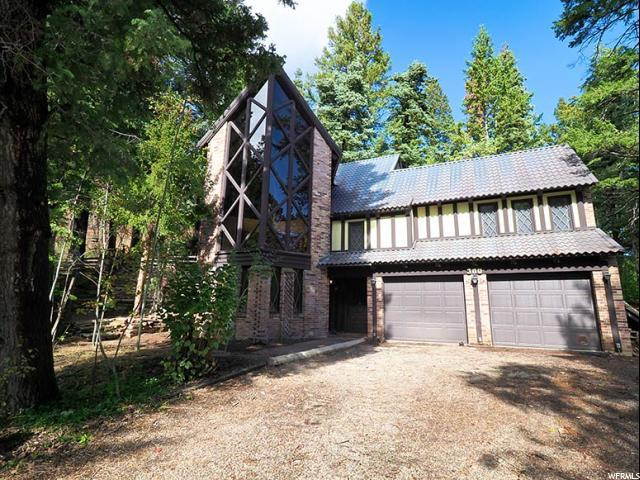 300 Upper Evergreen Dr, Summit Park, UT 84098 (MLS #1560009) :: High Country Properties
