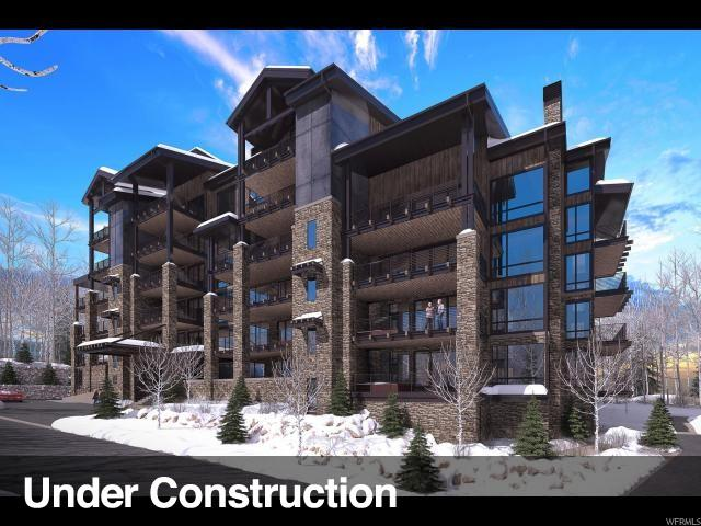 7697 Village Way #603, Park City, UT 84060 (#1560034) :: Doxey Real Estate Group