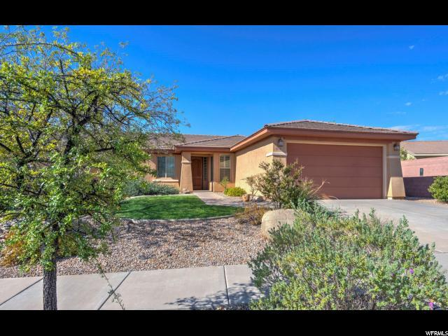 2580 E Slick Rock Rd N, Washington, UT 84780 (#1560263) :: The Fields Team