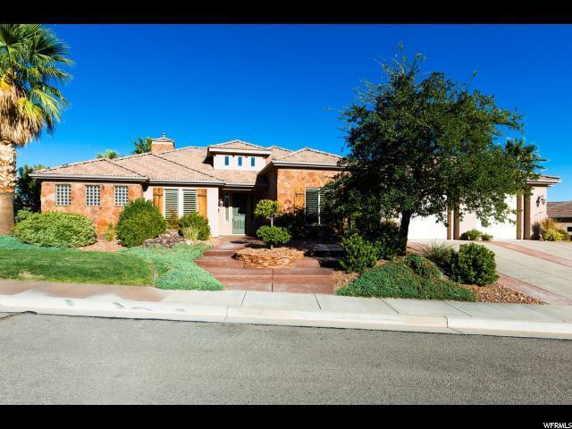 1292 W Green Spring Heights Dr S, Washington, UT 84780 (#1560903) :: goBE Realty