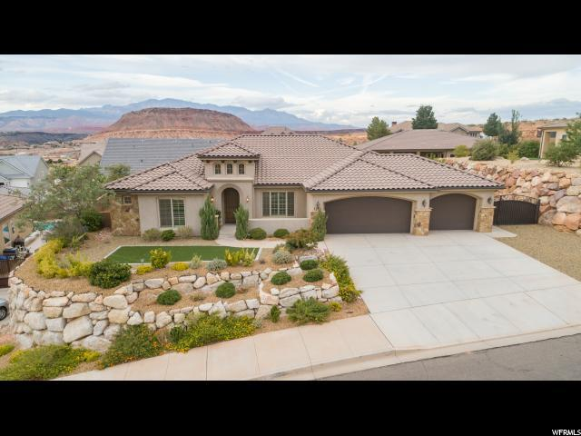 1281 E Blue Sky Dr, Washington, UT 84780 (#1561056) :: Exit Realty Success