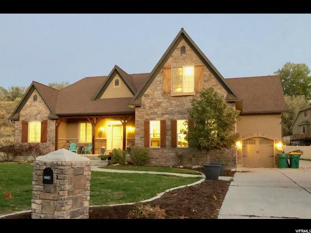 14497 S Gray Fox Dr W, Bluffdale, UT 84065 (#1561292) :: The Utah Homes Team with iPro Realty Network