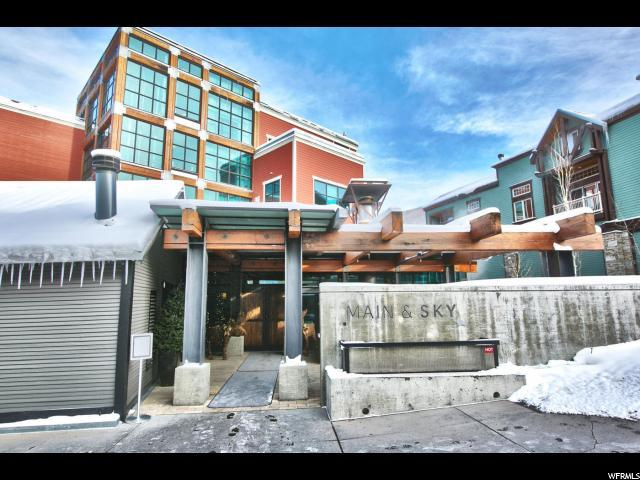201 Heber Ave 402F, Park City, UT 84060 (#1561738) :: The Utah Homes Team with iPro Realty Network