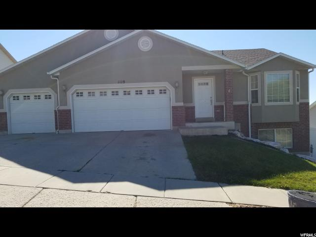 1119 E Sharp Mountain Dr, Ogden, UT 84404 (MLS #1561892) :: Lookout Real Estate Group