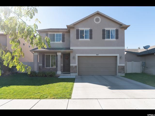 947 N Hillingdon Ct W, North Salt Lake, UT 84054 (#1562083) :: RE/MAX Equity