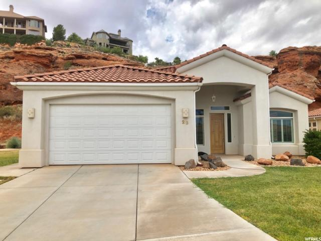 23 N Shadow Ridge Dr, Washington, UT 84780 (#1562147) :: goBE Realty