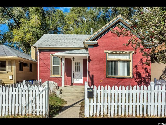 248 W Fern Ave, Salt Lake City, UT 84103 (#1562366) :: goBE Realty