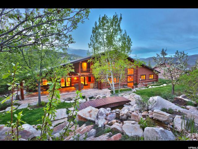 4265 Hidden Cove Rd, Park City, UT 84098 (MLS #1562680) :: High Country Properties