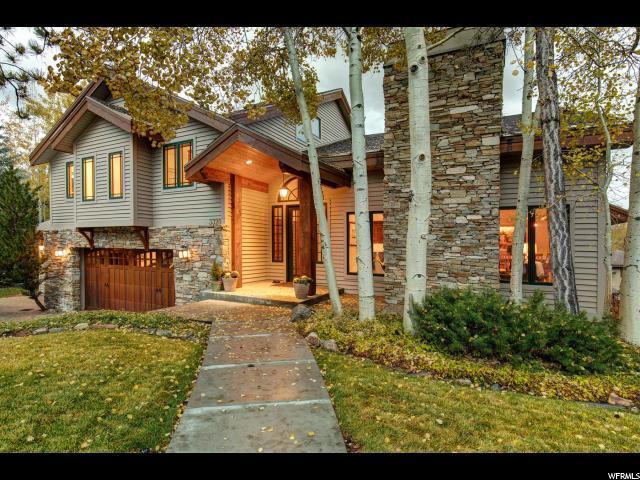 3320 Mountain Ln, Park City, UT 84060 (#1563001) :: The Canovo Group
