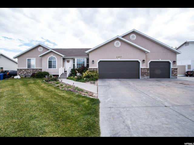 4957 W Opal Hill Dr S, West Jordan, UT 84084 (#1563266) :: Big Key Real Estate