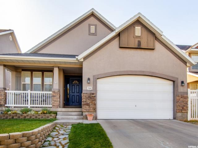 7528 S Sunset Maple Dr, West Jordan, UT 84081 (#1563309) :: The Utah Homes Team with iPro Realty Network