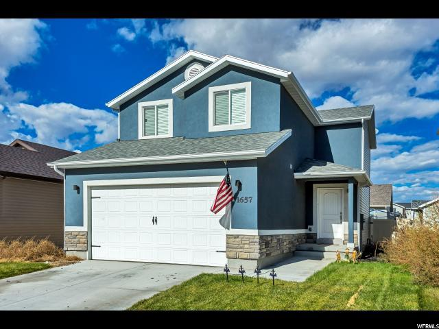 1657 E Downwater St. N, Eagle Mountain, UT 84005 (#1563381) :: Big Key Real Estate