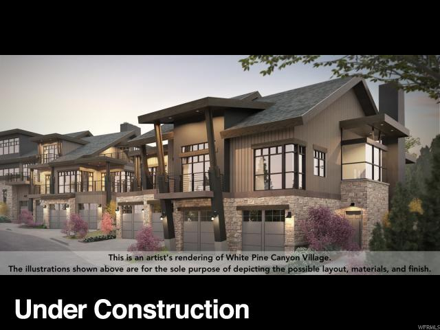 1890 Stone Hollow. Ct #4, Park City, UT 84098 (MLS #1563844) :: High Country Properties