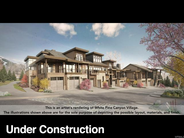 1896 Stone Hollow. Ct #5, Park City, UT 84098 (MLS #1563856) :: High Country Properties