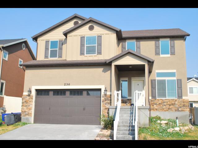 236 W Cedar Grove Ln, Saratoga Springs, UT 84045 (#1564637) :: The One Group