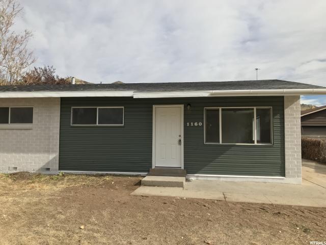 1160 N Victoria Way W, Salt Lake City, UT 84116 (#1565280) :: RE/MAX Equity