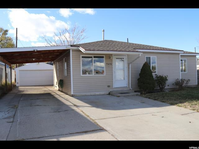 5636 S 4500 W, Salt Lake City, UT 84118 (#1565772) :: Big Key Real Estate