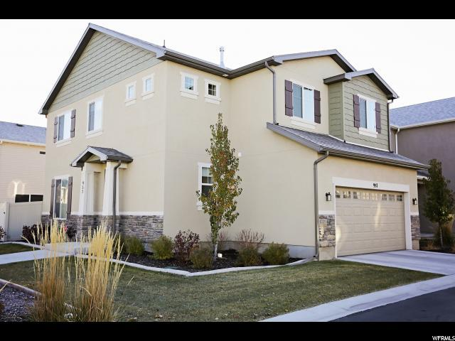 957 W Stonehaven Dr N, North Salt Lake, UT 84054 (#1565818) :: The One Group