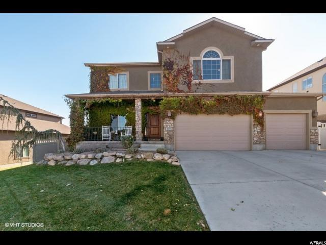 411 W Fox Hollow Dr, Saratoga Springs, UT 84045 (#1566402) :: Eccles Group