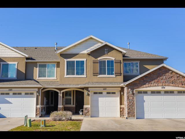 1147 N Chatteris W, North Salt Lake, UT 84054 (#1566542) :: The One Group