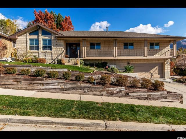 8017 S Deer Creek E, Cottonwood Heights, UT 84121 (#1566624) :: The One Group