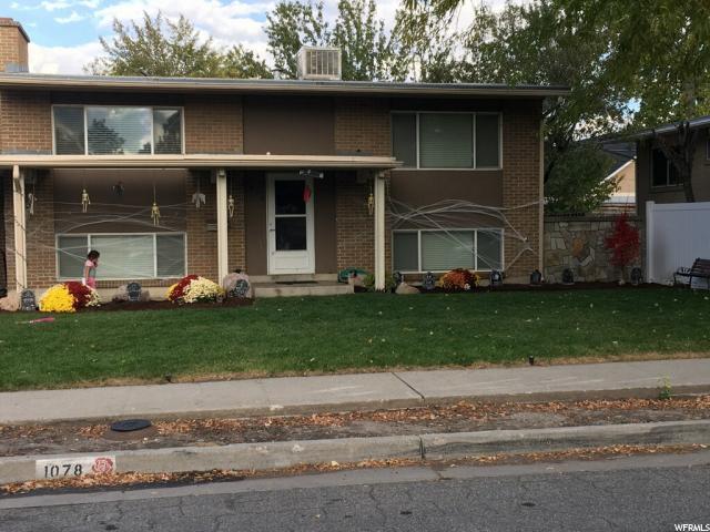 1078 N Garnette St W, Salt Lake City, UT 84116 (#1566742) :: The One Group