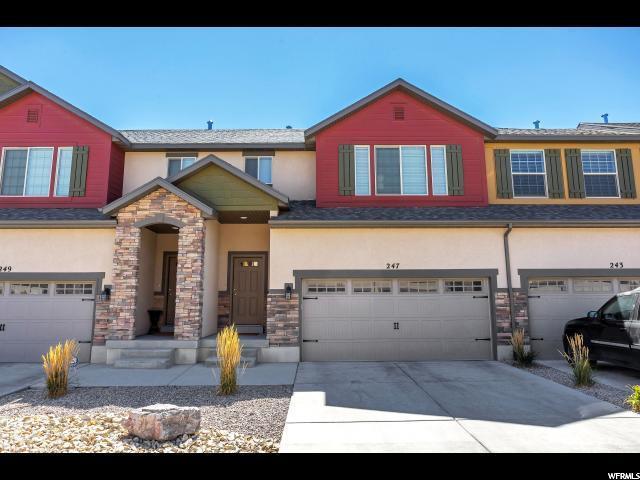 247 E Bridgewater Ln N, Saratoga Springs, UT 84045 (#1567693) :: Big Key Real Estate