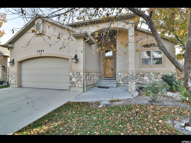 1591 W Crystal View Way S, South Jordan, UT 84095 (#1567838) :: Big Key Real Estate