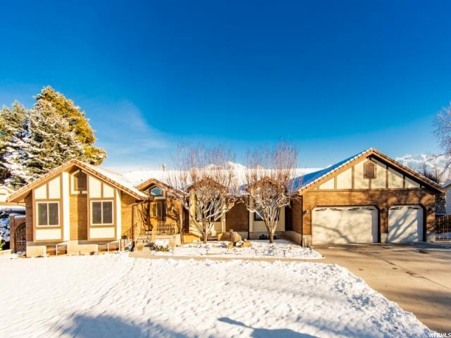 7555 S Michelle Way, Cottonwood Heights, UT 84093 (#1570654) :: goBE Realty