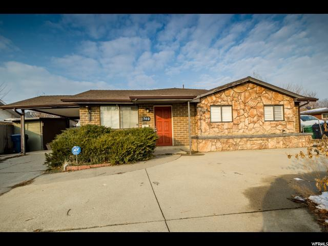 749 E 8080 S, Sandy, UT 84094 (#1571029) :: The Utah Homes Team with iPro Realty Network