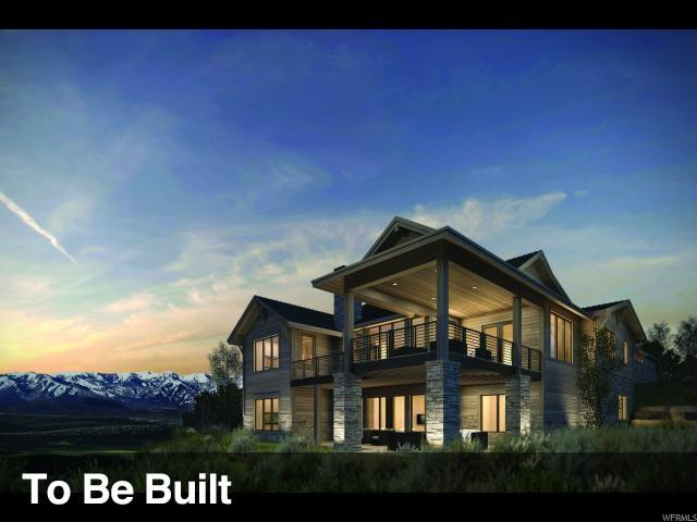 6881 W Golden Bear Loop, Park City, UT 84098 (MLS #1571240) :: High Country Properties