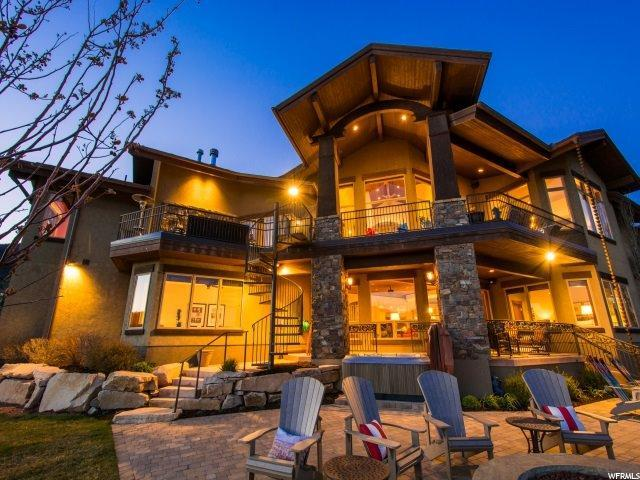 9230 N Sand Trap Ct, Park City, UT 84098 (MLS #1571338) :: High Country Properties