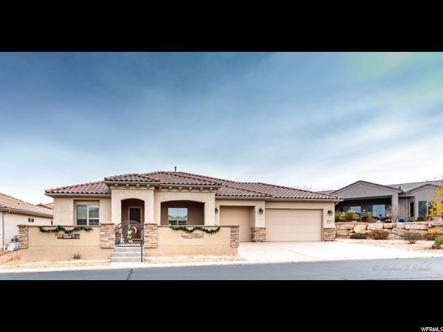 1678 W Morane Manor Dr, St. George, UT 84790 (#1571869) :: The Muve Group