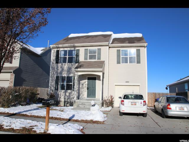 482 W Alfred Dr, Tooele, UT 84074 (#1571905) :: Red Sign Team