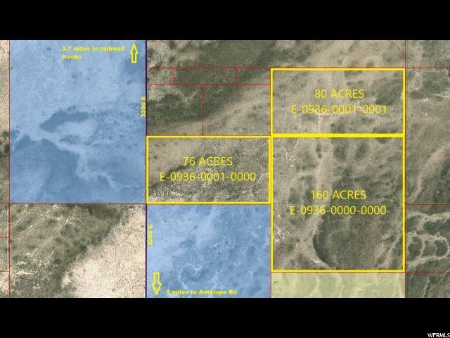 316 Acres On 3200 E, Beryl, UT 84714 (#1573147) :: Bustos Real Estate | Keller Williams Utah Realtors