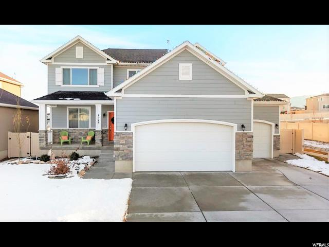 7528 N Evans Ranch Dr, Eagle Mountain, UT 84005 (#1574575) :: Colemere Realty Associates