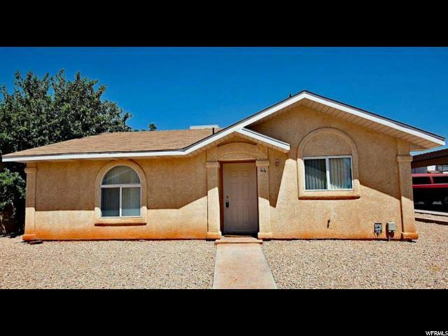 1840 W 1100 N #44, St. George, UT 84770 (#1574602) :: The Canovo Group