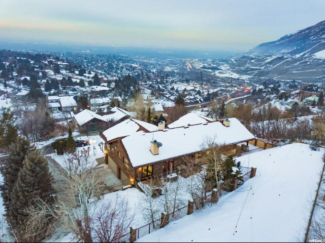 7651 S Timberline Dr, Cottonwood Heights, UT 84121 (#1574630) :: Colemere Realty Associates