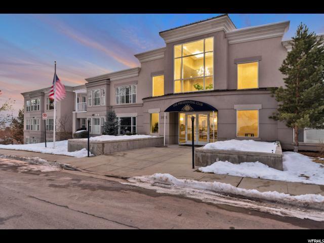 3075 E Kennedy Dr S #308, Salt Lake City, UT 84108 (#1574816) :: Big Key Real Estate